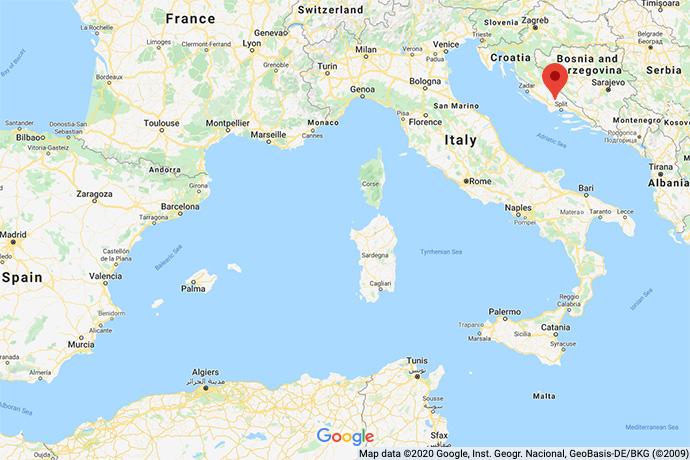 Croatia-Hinterland-map