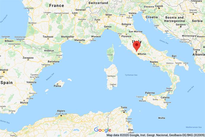 Italy-Roman-map