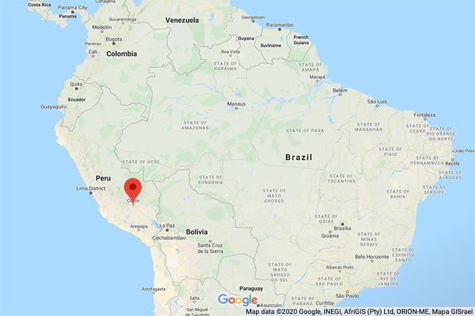 Peru-Machu-map