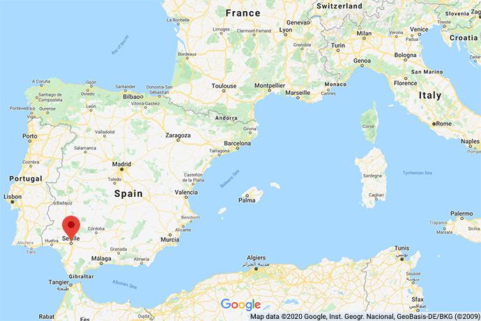Spain-Dressage-map